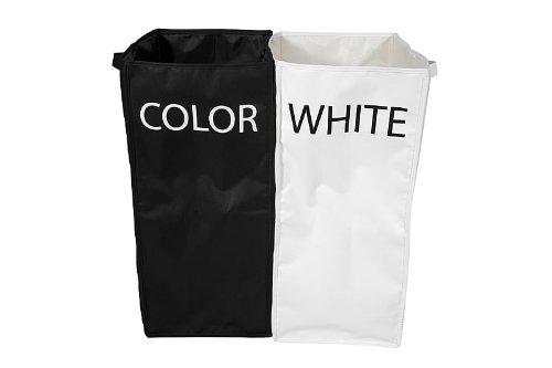 wäschebox zum Sortieren |  wäschebox für schwarze und weiße wäsche | wäschekorb zum sortieren