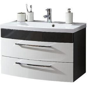 Waschbecken mit Unterschrank 80 cm | Waschbecken mit Unterschrank