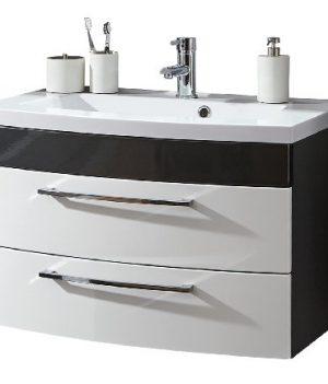 Waschbecken mit Unterschrank 80 cm   Waschbecken mit Unterschrank