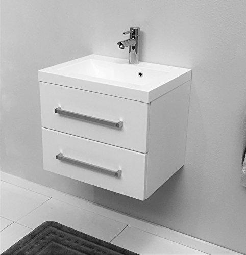 quentis waschplatz genua 50 2 teilig wei 2 schubladen. Black Bedroom Furniture Sets. Home Design Ideas