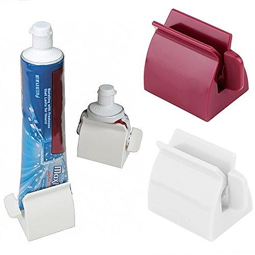 rollende zahnpasta tube squeezer einfach squeeze dispenser. Black Bedroom Furniture Sets. Home Design Ideas