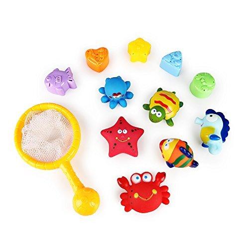sainsmart jr badespielzeug baby kinder badespielzeug spielzeug f r badewanne 12 teilig badeset. Black Bedroom Furniture Sets. Home Design Ideas