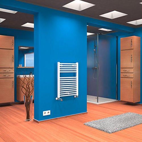 Design Heizkörper Flur Beautiful Design Heizung Wohnzimmer: Schulte Badheizkörper Seitenanschluss Unten Atlas 70x50 Cm