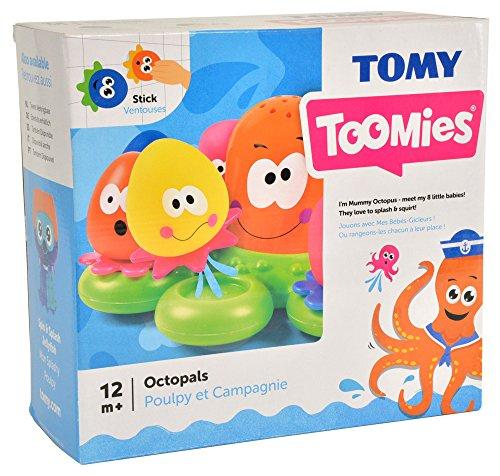 tomy wasserspiel f r kinder okto plantschis mehrfarbig hochwertiges kleinkindspielzeug. Black Bedroom Furniture Sets. Home Design Ideas