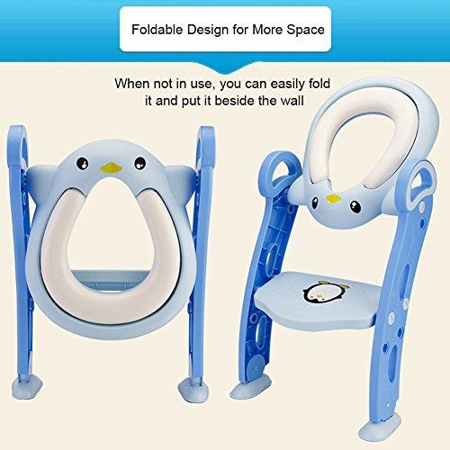 toiletten trainer samber kinder t pfchen toilettentrainer wc sitz toilettensitz mit treppe und. Black Bedroom Furniture Sets. Home Design Ideas