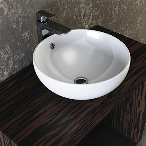 VILSTEIN© Keramik Waschbecken Aufsatz-Waschbecken Aufsatz