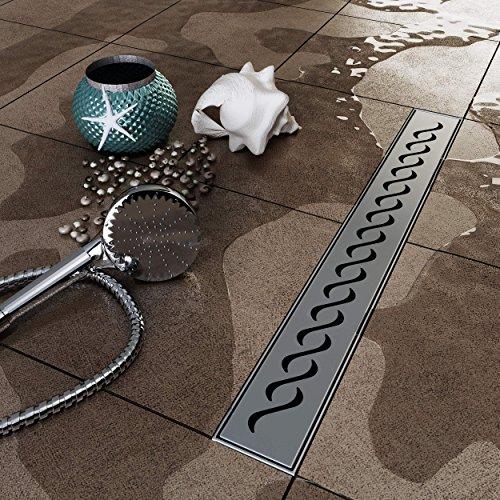 Duschrinne, abflussrinne , 70 cm duschrinne , 70 cm ablaufrinne für dusche