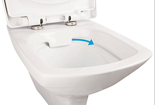 wc kombination ohne sp lrand stand wc randloses wc inklusive sp lkasten und wc sitz mit. Black Bedroom Furniture Sets. Home Design Ideas