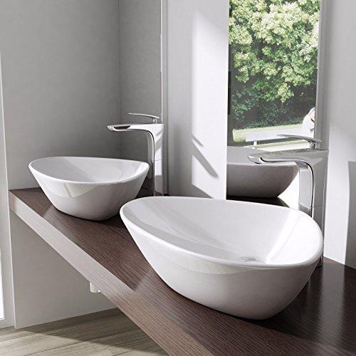 Waschtisch Für Aufsatzbecken waschbecken aus keramik waschplatz waschtisch aufsatzbecken