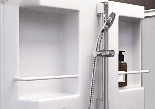 wellnessdusche fertigdusche komplettdusche duschtempel 80x80 cm sicherheits glas matt profile. Black Bedroom Furniture Sets. Home Design Ideas