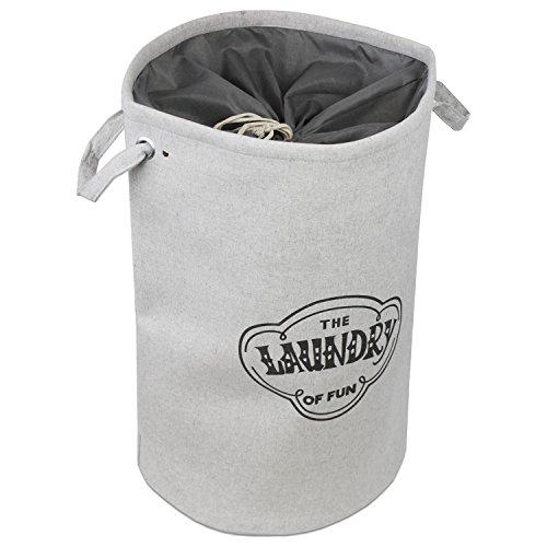 wäschesack | grauer wäschekorb |  wäschebox grau