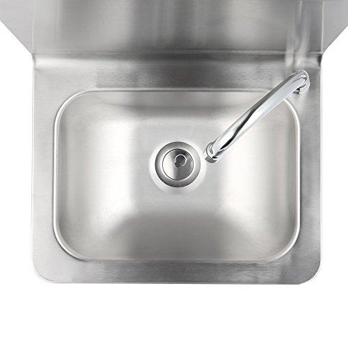 Zelsius Edelstahl Handwaschbecken Mit Kniebetatigung Und