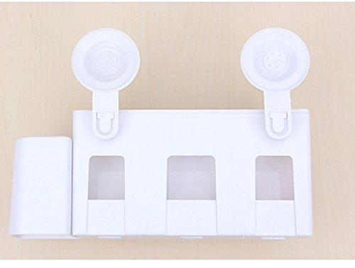 zahnb rste halter und absaugung tasse zahnb rste rack wand wand montierten zahnb rstenhalter. Black Bedroom Furniture Sets. Home Design Ideas
