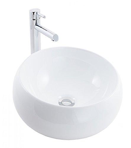 Waschbecken rund